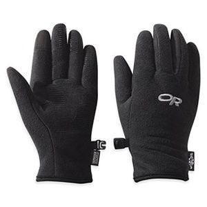 Fuzzy Sensor Gloves Medium Black